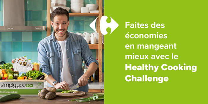 Participez au Healthy Cooking Challenge