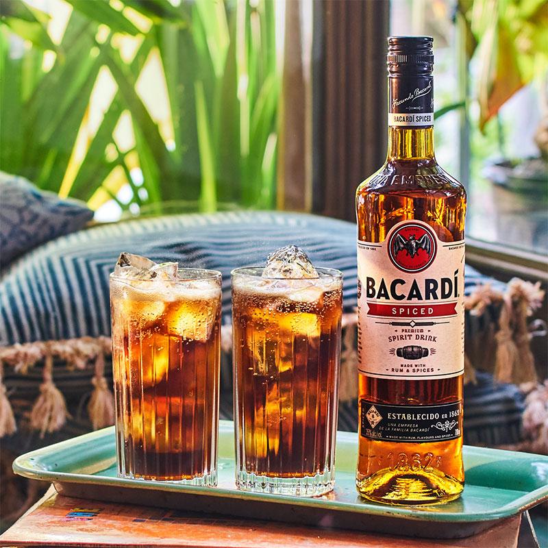 Baccardi Spiced & Coke