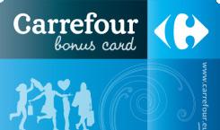 Carte Carrefour Bonus Card