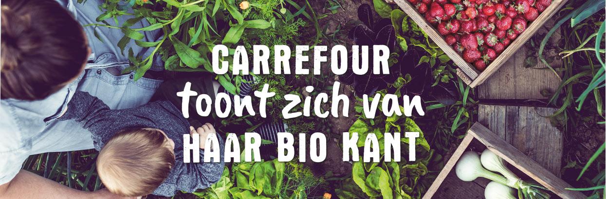 Carrefour toont zich van haar BIO kant