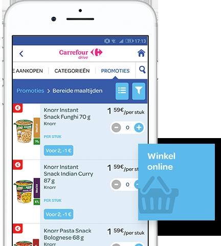 Je boodschappen met je smartphone