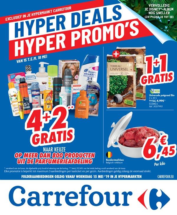 Hypermarkt Carrefour folder
