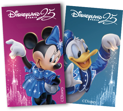 Sticker Minnie et Donald