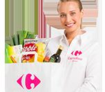 Bestel je producten op Carrefour drive