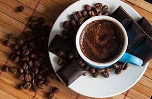 Koffie & chocolade!
