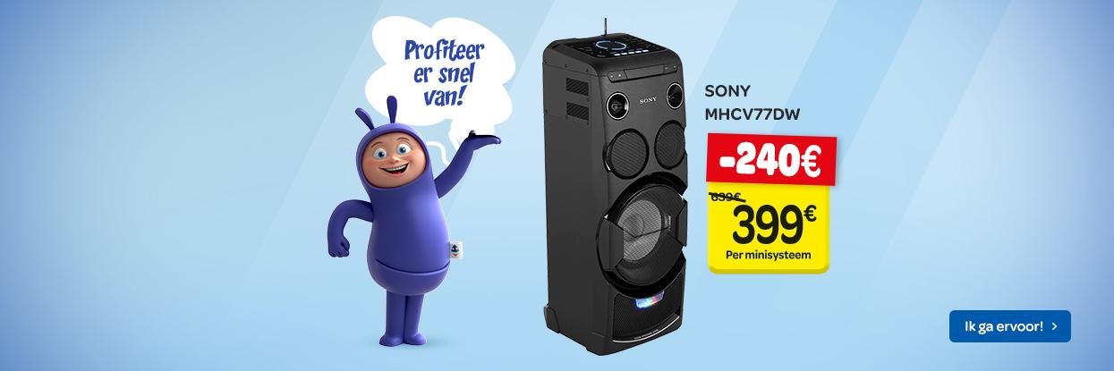Onklopbare promoties op multimedia!