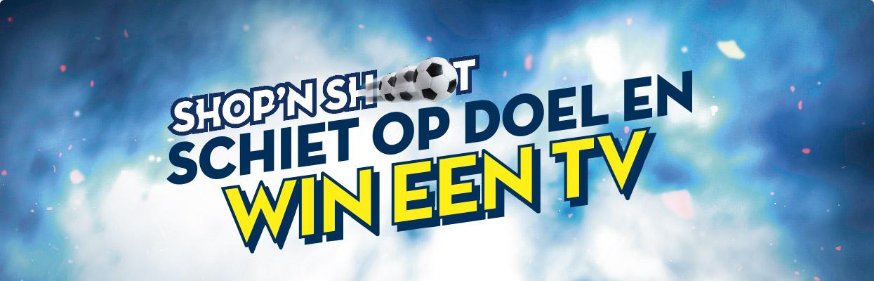Shop'n Shoot : schiet op de doel en win een tv