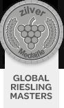 Zilver Medaille - Global Riesling Masters