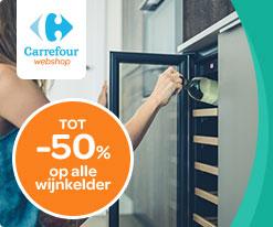 Carrefour webshop tot -50% op alle wijnkelder