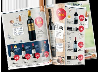 Découvrez notre catalogue de la  foire aux vins