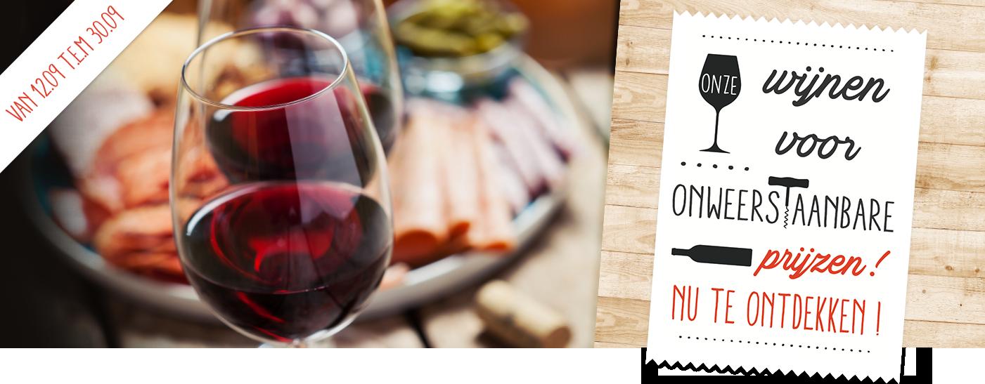Onze wijnen voor onweerstaanbare prijzen nu te ontdekken!