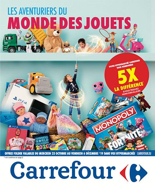 Folder jouet Carrefour