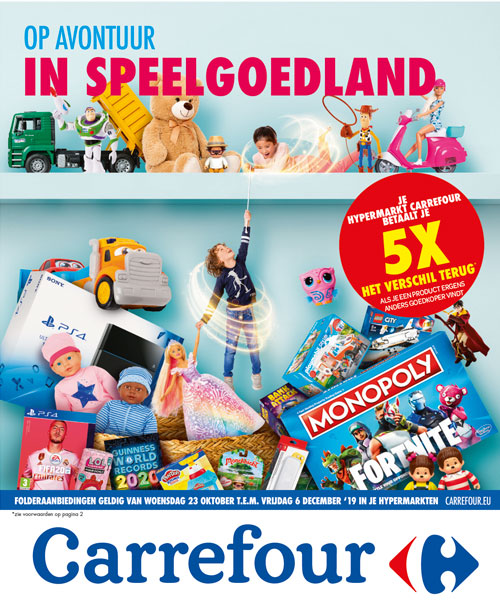 Folder Carrefour