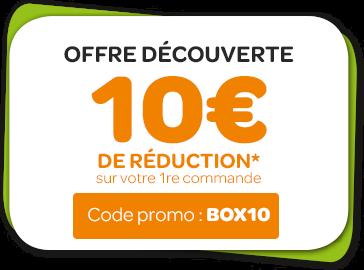 Offre découverte 10€ de réduction