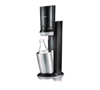 SodaStream  Crystal Black Metal Drankapparaat