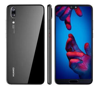 Huawei P20 128GB dual sim - Ceramic Black