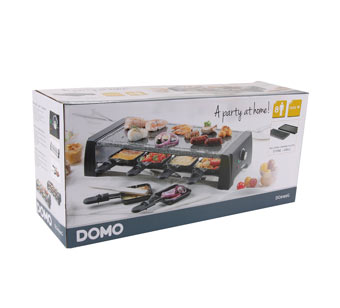 Domo DO9189G Steengrill/Raclette/Grill