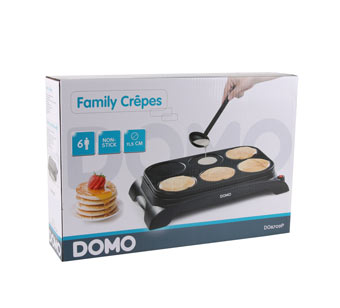 Domo Family Crêpes DO8709P Crêpière