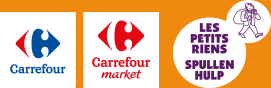 Carrefour, Carrefour market, Les petits riens Spullen Hulp