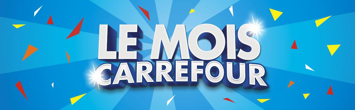 Le mois carrefour : 4 semaines d'offres incroyables!