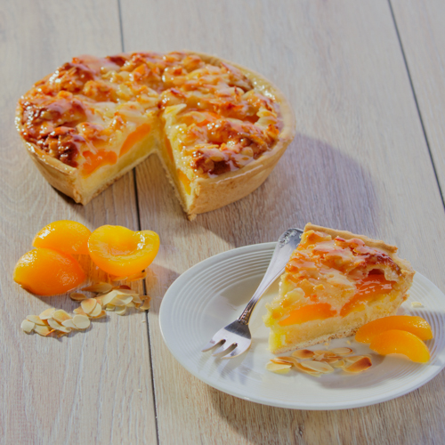 Tarte frangipane met abricot